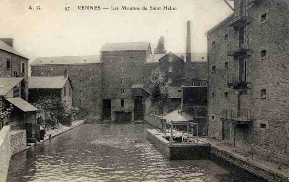 Moulins de saint helier